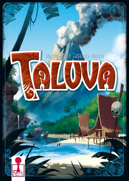 Box art Taluva by Naiade. Third multilangual edition by Ferti.
