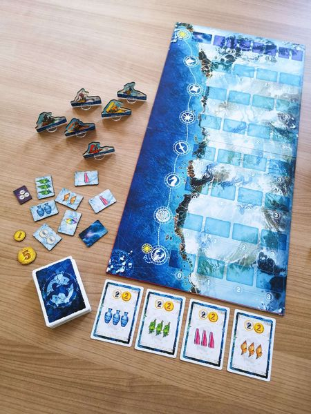 Whale Riders - Prototype - components