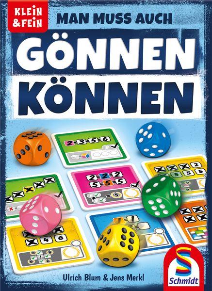 Man muss auch gönnen können, Schmidt Spiele, 2020 — front cover (image provided by the publisher)
