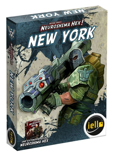 Neuroshima Hex! New York | Image | BoardGameGeek