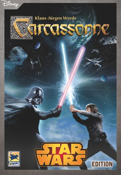 Carcassonne: Star Wars, Hans im Glück, 2015 (image provided by the publisher)