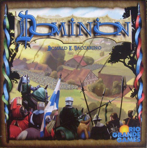 Box Front. Rio Grande Games version