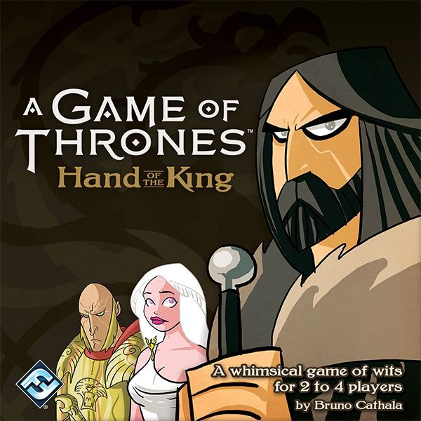 A Game of Thrones: Hand of the King, Fantasy Flight Games, 2016 — front cover (image provided by the publisher)