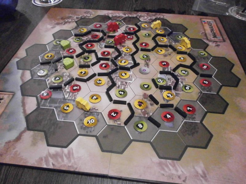 Mapmaker: The Gerrymandering Game   Image   BoardGameGeek