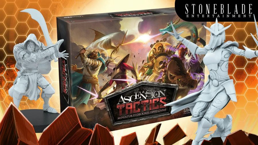 Ascension Tactics: The Deckbuilding Miniatures Game