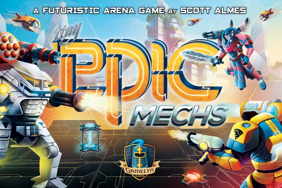 Tiny Epic Mechs -  Gamelyn Games