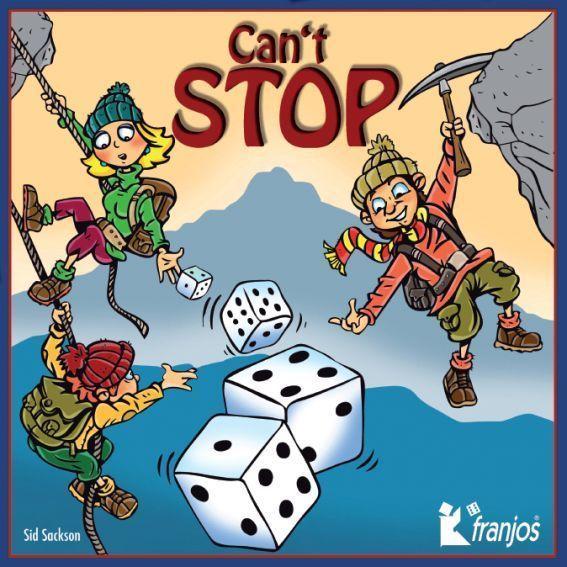 Can't Stop, franjos Spieleverlag, 2011