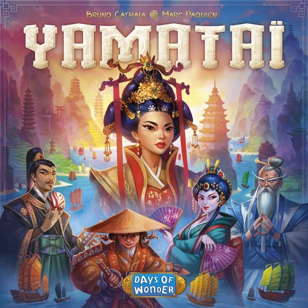 Yamataï, Days of Wonder, 2017 — front cover (image provided by the publisher)