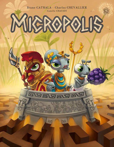 Micropolis, Matagot, 2018 — non-final cover image