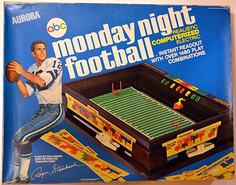 abc monday night football board game