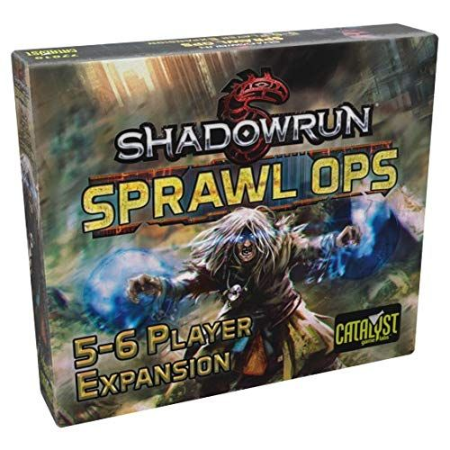 Shadowrun Sprawl Ops: 5 To 6 Player Expansion -  Catalyst Game Labs
