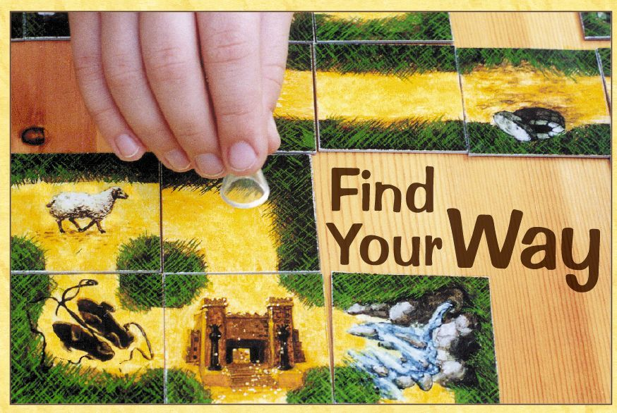 Find your way board game