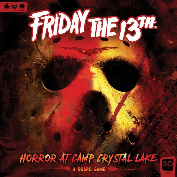 Friday the 13th: Horror at Camp Crystal Lake, The Op, 2020 — front cover (image provided by the publisher)
