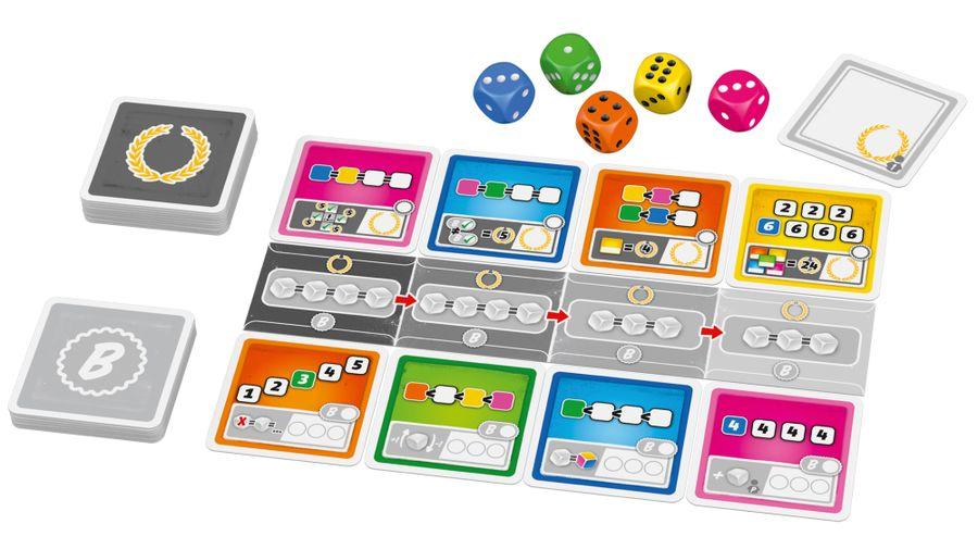 Man muss auch gönnen können, Schmidt Spiele, 2020 — components (image provided by the publisher)