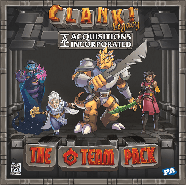 C-Team Pack: Clank!: Legacy. Acquisitions Incorporated -  Renegade Game Studio