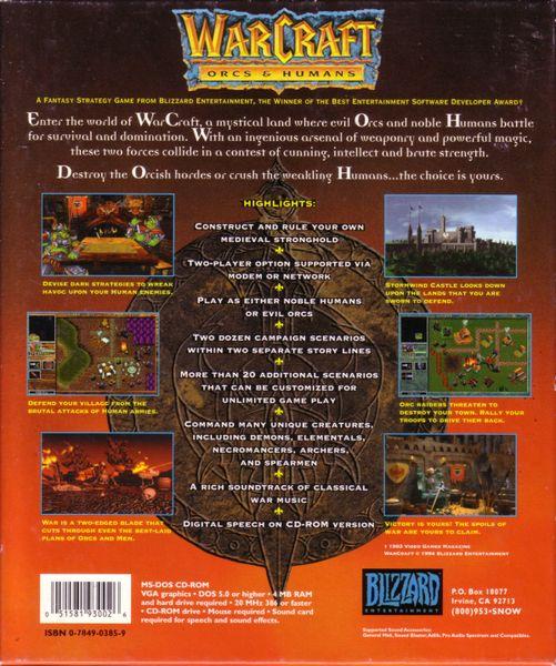 Warcraft Orcs Humans Image Boardgamegeek