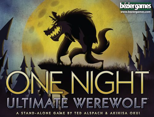 One Night Ultimate Werewolf, Bézier Games, 2014 (image provided by the publisher)
