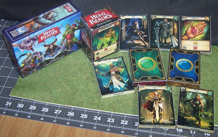 Most decks have their own box. Two basic starter decks per tuck box.