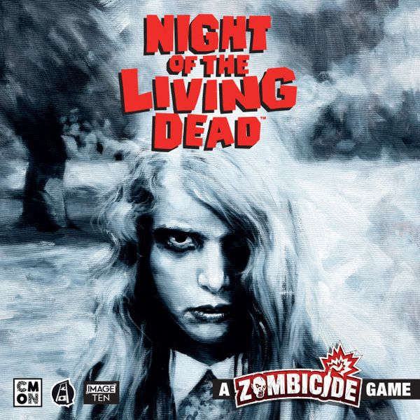 Night of the Living Dead: A Zombicide Game, CMON Limited / Guillotine Games, 2020 — front cover
