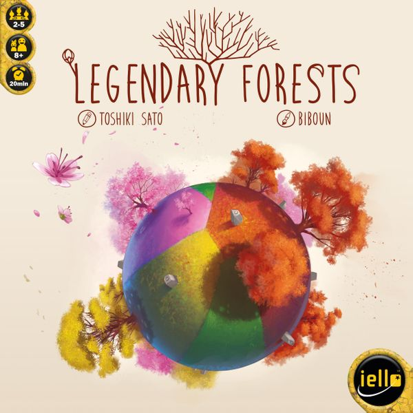 Legendary Forests, IELLO, 2019 — Front cover