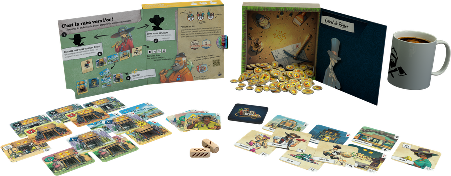 Gold River, Lumberjacks Studio, 2020 — components (image provided by the publisher)