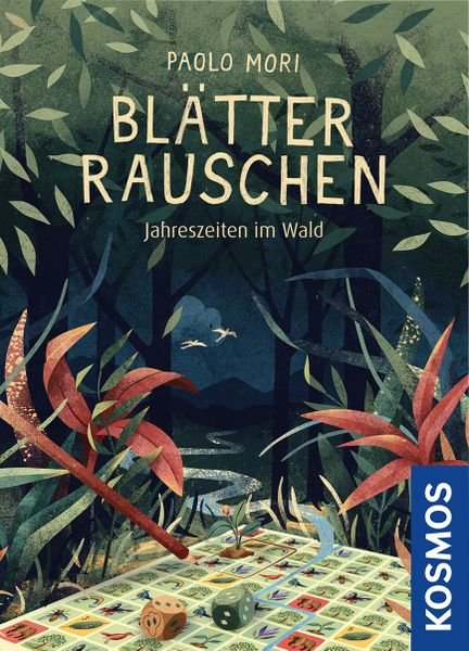Blätterrauschen, KOSMOS, 2020 — front cover (image provided by the publisher)