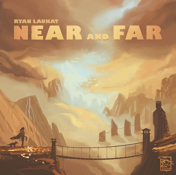 Near and Far, Red Raven Games, 2017 — front cover (image provided by the publisher)