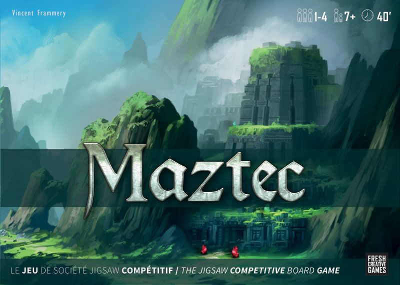 Maztec - Jigsaw Competitive Board Game