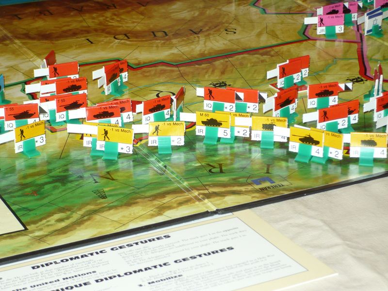 A line in the sand tsr board game:
