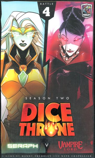 Seraph vs. Vampire Lord: Dice Throne Season Two Box 4  -  Roxley Games