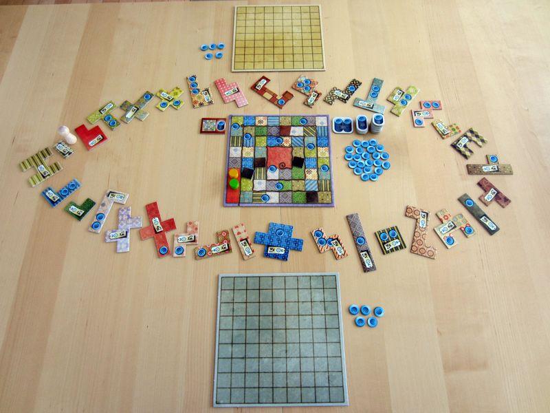 Game set up