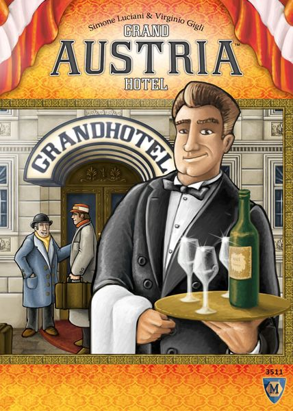 Grand Austria Hotel, Mayfair Games, 2015 (image provided by the publisher)
