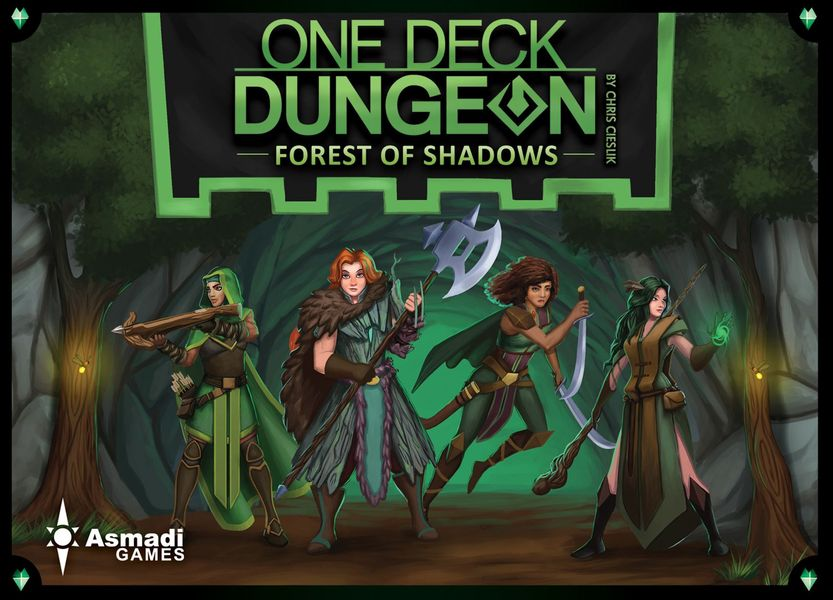 Análisis - One Deck Dungeon: Forest of Shadows
