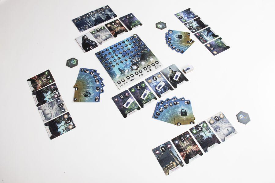 Influentia · Game components