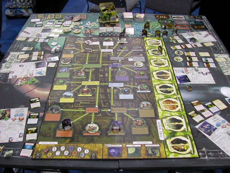 Arkham Horror at FFG booth, Origins 2005