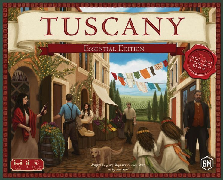 Tuscany Essential Edition box front
