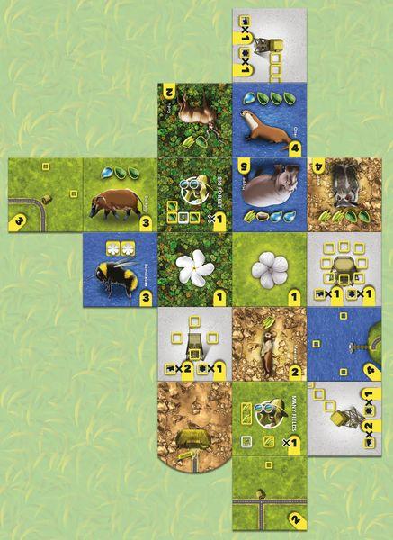 Habitats, Cwali, 2016 — sample endgame park (image provided by the publisher)