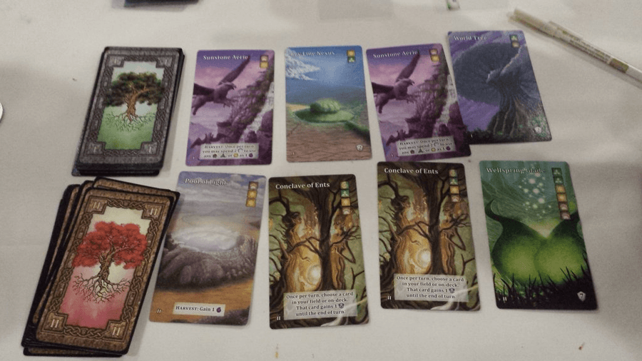 Mystic Vale Card Samples