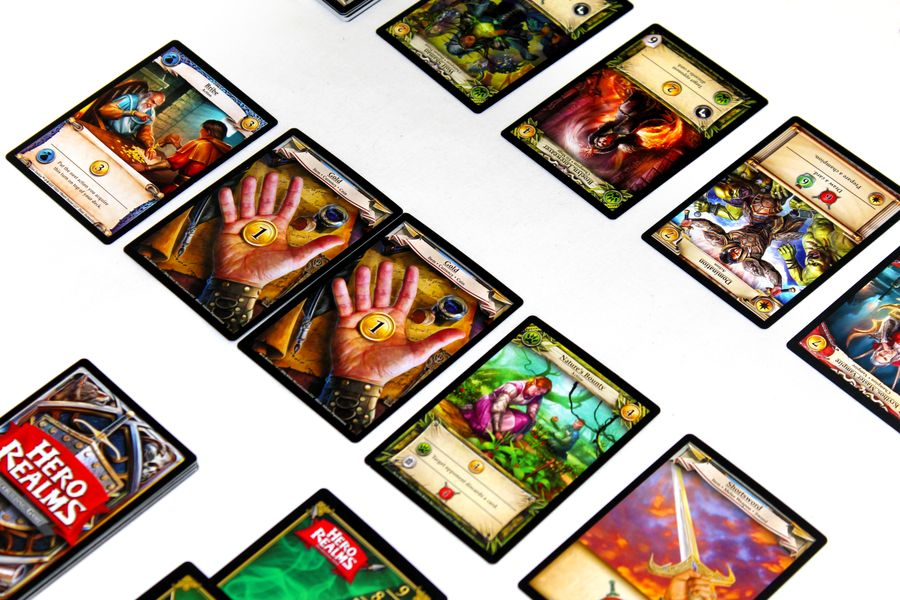 A game of Hero Realms!