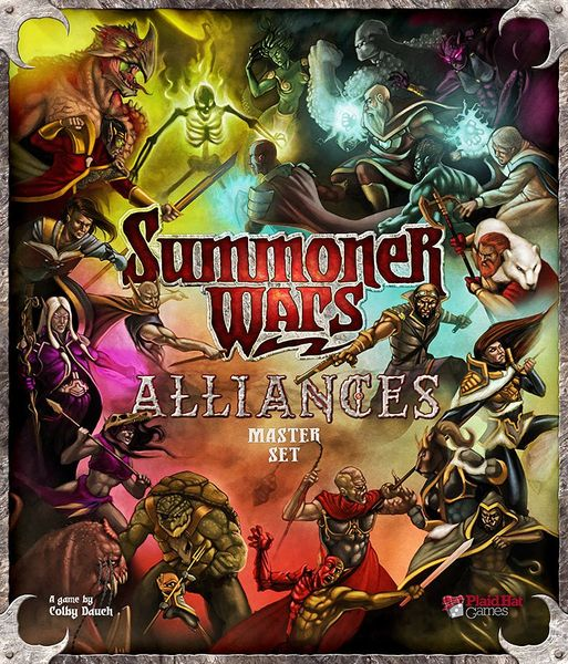 'Summoner Wars: Alliances' box front