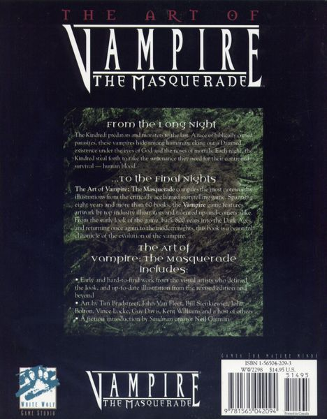 The Art of Vampire: The Masquerade | Image | BoardGameGeek