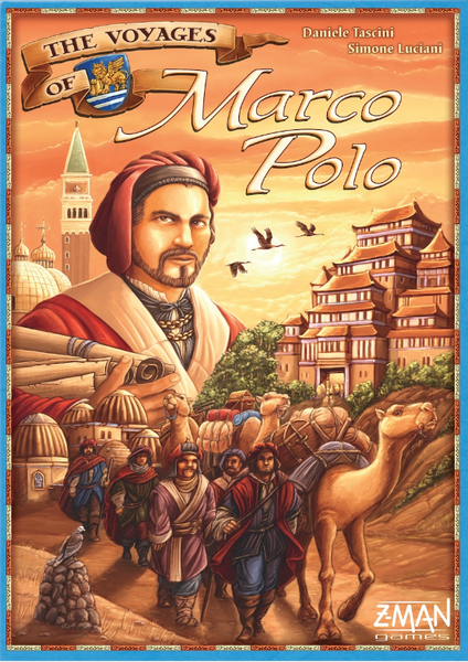 The Voyages of Marco Polo, Z-Man Games, 2015 (image provided by the publisher)