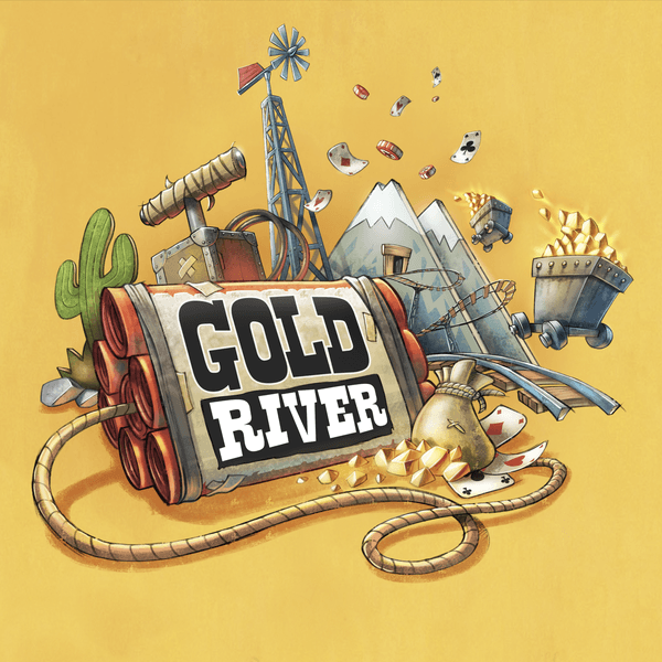 Gold River, Lumberjacks Studio, 2020 — front cover (image provided by the publisher)