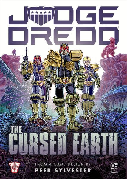 Judge Dredd: The Cursed Earth, Osprey Games, 2019 — front cover