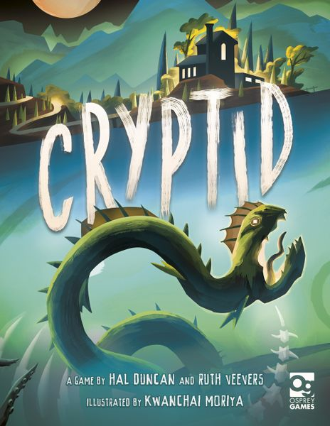 Cryptid, Osprey Games, 2018 — front cover