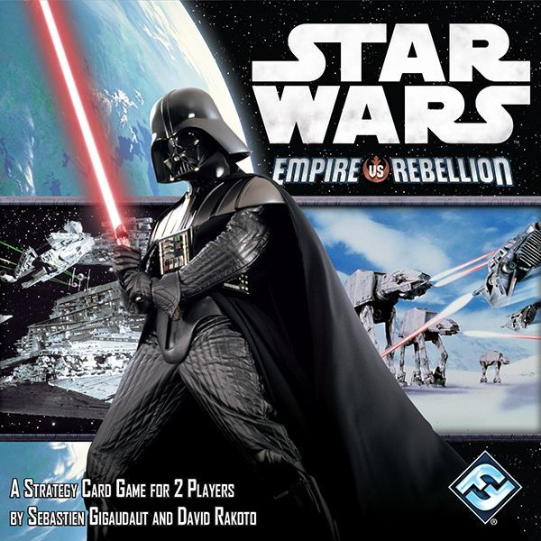 Star Wars: Empire vs. Rebellion, Fantasy Flight Games, 2014 (image provided by the publisher)