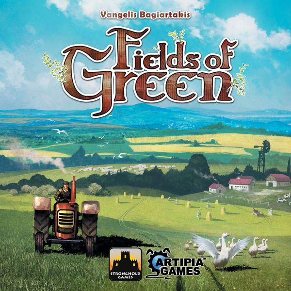 Fields of Green, Stronghold Games, 2017 — front cover (image provided by the publisher)