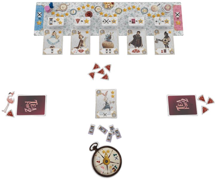 Tea for 2, Space Cowboys, 2020 — gameplay example (image provided by the publisher)