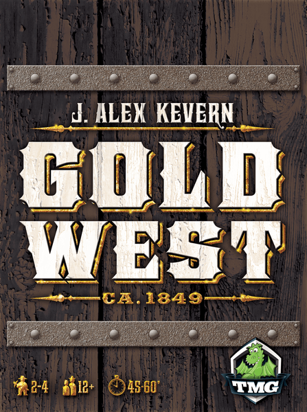 Gold West front cover.