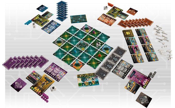 Tiny Epic Mechs - Full Game Set Up